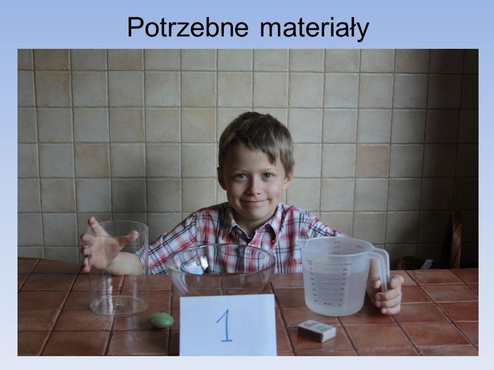 Potrzebne materiały