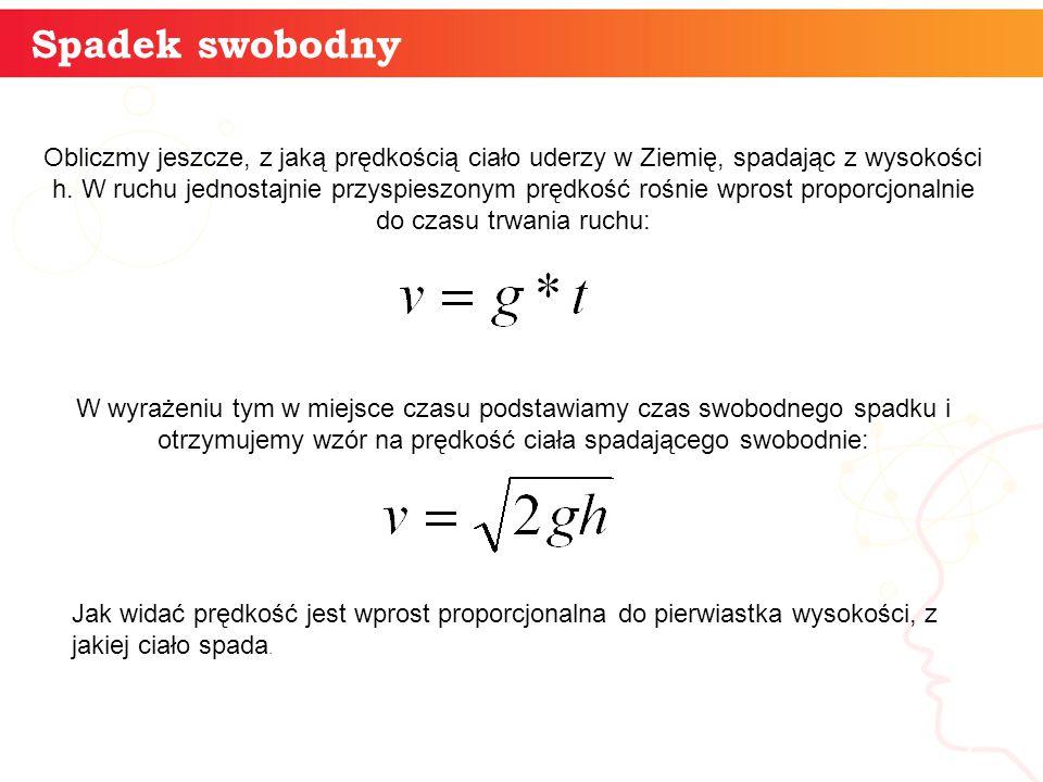 informatyka + 8 Spadek swobodny