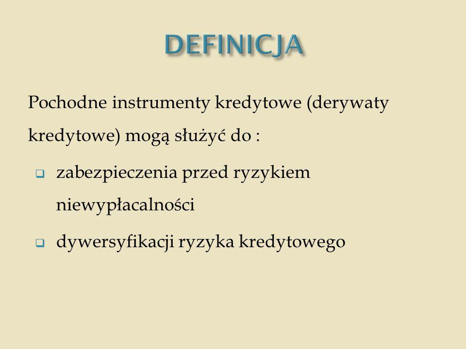  Instrumenty finansowe i ich zastosowanie, Janusz Kudła  Kredytowe instrumenty pochodne – wyzwanie dla polskiego systemu finansowego, Renata Karkowska  British Bankers Association Report 2006