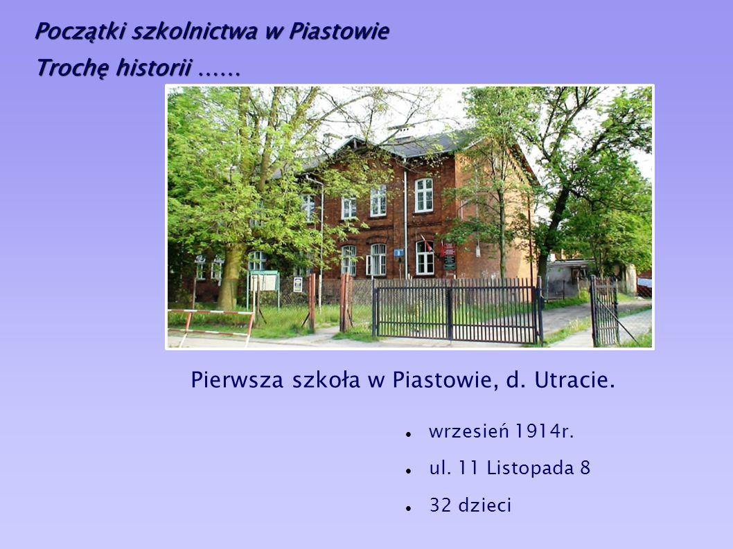 DZIESIĘĆ LAT MINĘŁO Dziesięciolecie reaktywacji Szkoły Podstawowej nr 1 w Piastowie Piastów, 8 maja 2008r.