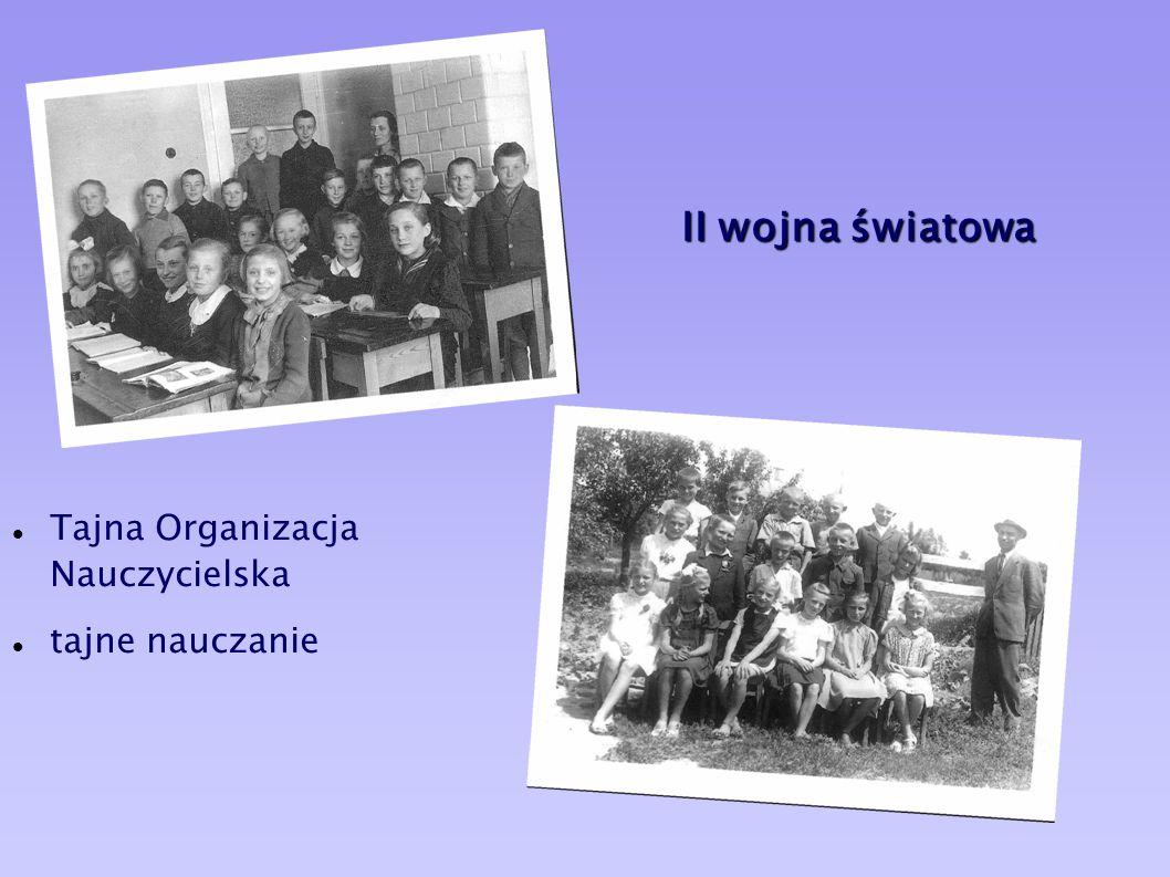 Pierwszy sztandar szkoły Akt nadania sztandaru oraz imienia Stanisława Staszica 1933r.