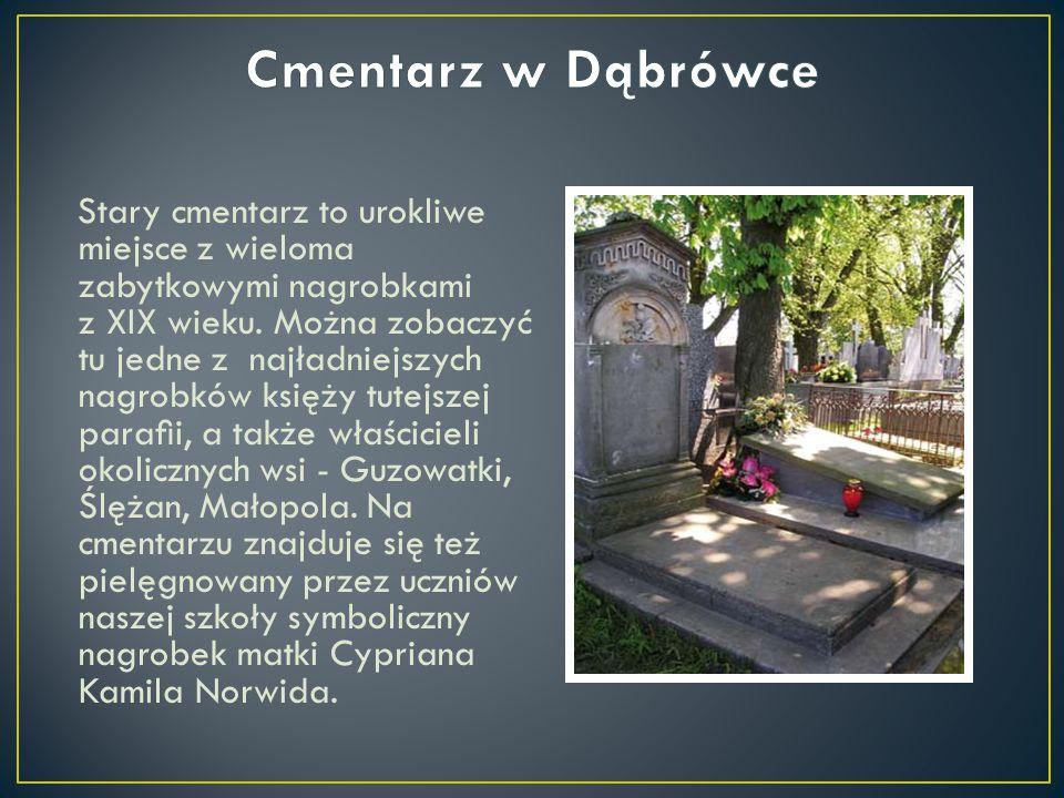 Stary cmentarz to urokliwe miejsce z wieloma zabytkowymi nagrobkami z XIX wieku. Można zobaczyć tu jedne z najładniejszych nagrobków księży tutejszej