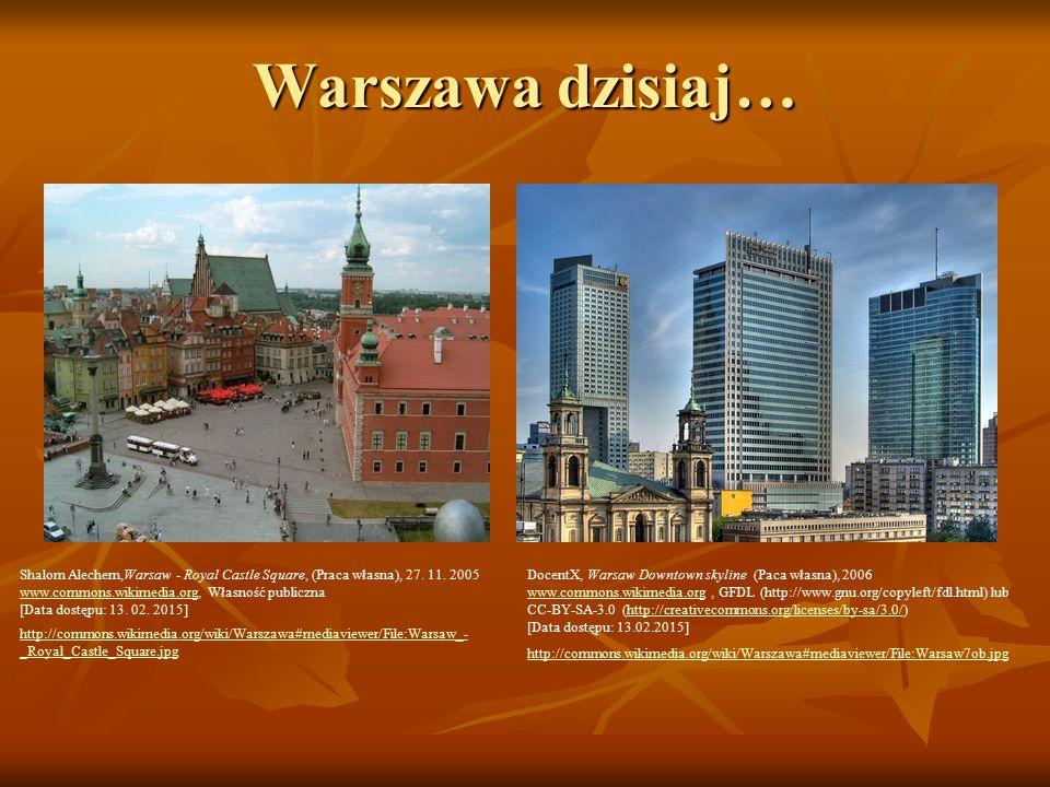 Warszawa dzisiaj… Shalom Alechem,Warsaw - Royal Castle Square, (Praca własna), 27.