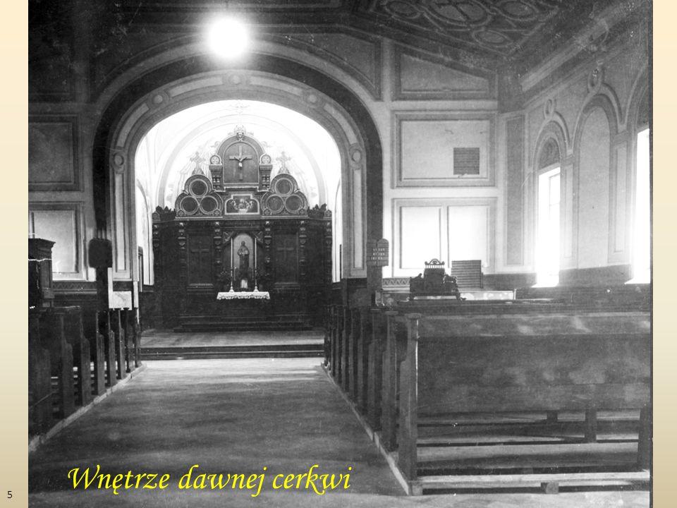 Wnętrze dawnej cerkwi 5
