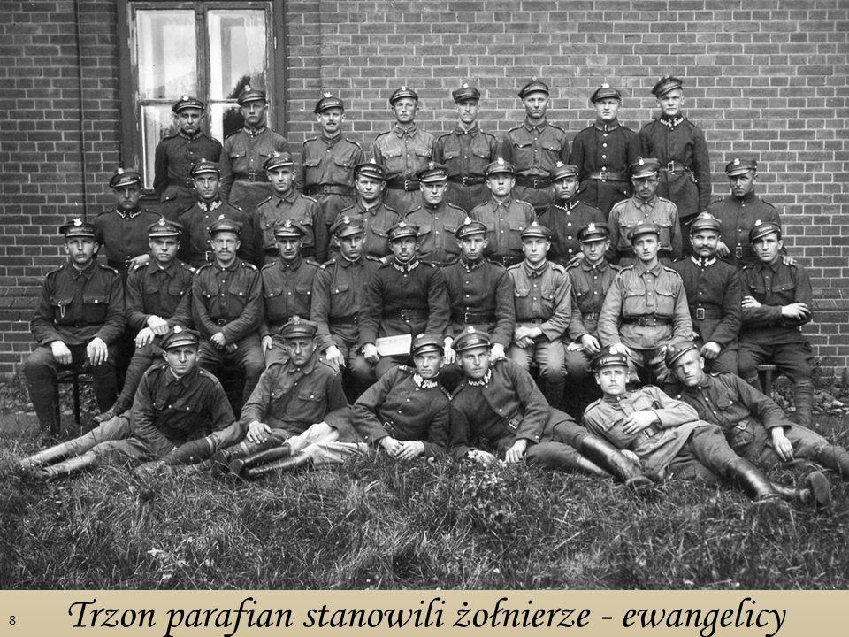 Trzon parafian stanowili żołnierze - ewangelicy 8