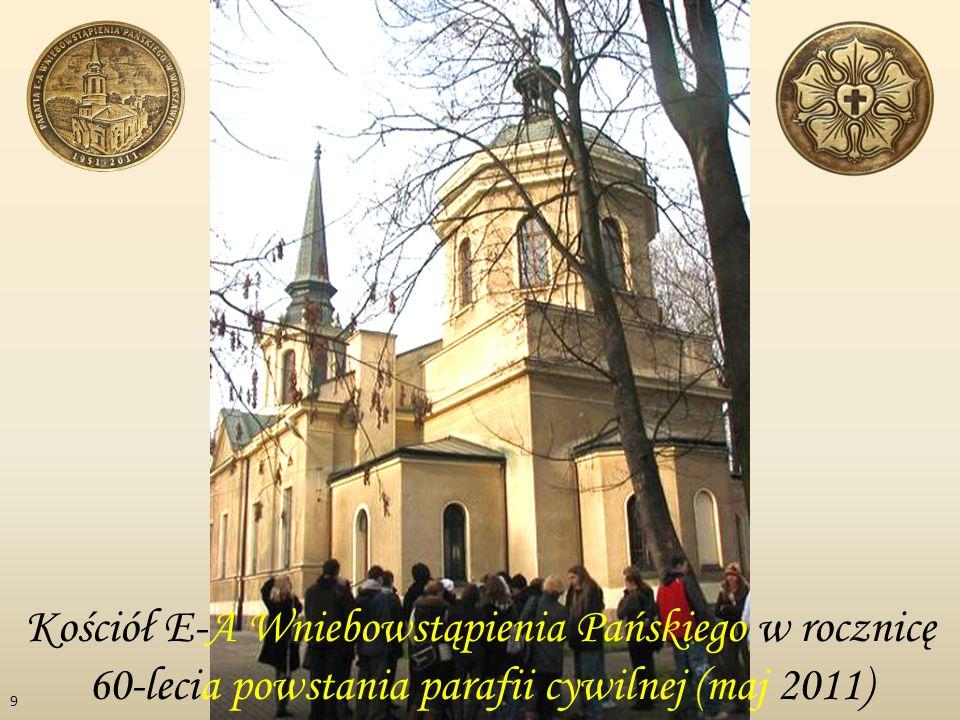 Kościół E-A Wniebowstąpienia Pańskiego w rocznicę 60-lecia powstania parafii cywilnej (maj 2011) 9
