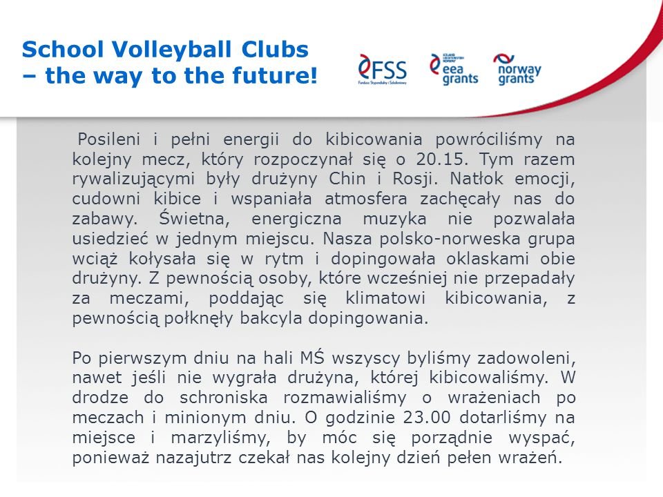 School Volleyball Clubs – the way to the future.