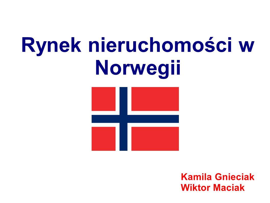 Rynek nieruchomości w Norwegii Kamila Gnieciak Wiktor Maciak