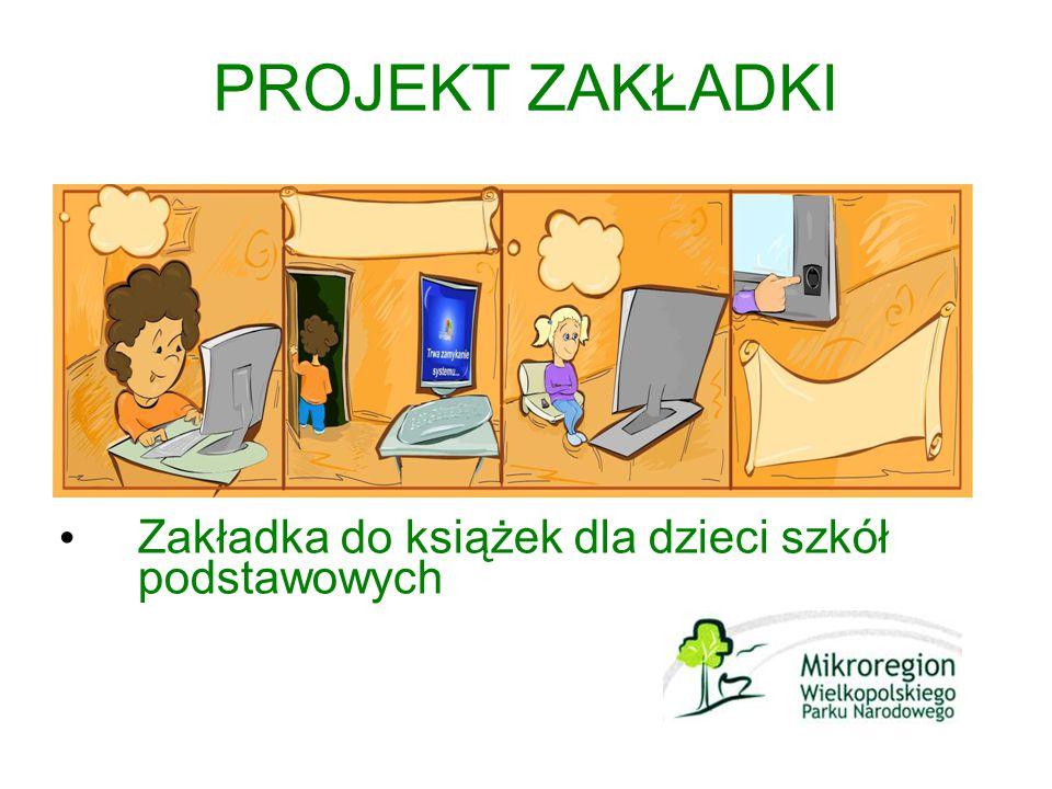 PROJEKT ZAKŁADKI Zakładka do książek dla dzieci szkół podstawowych