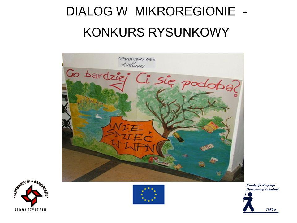 DIALOG W MIKROREGIONIE - KONKURS RYSUNKOWY