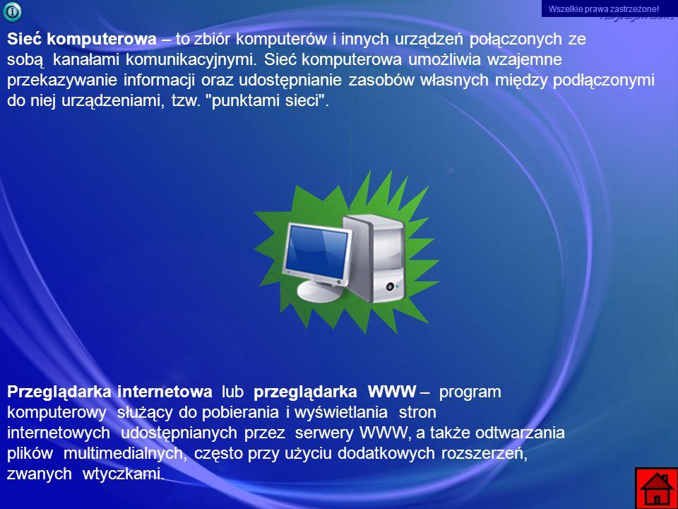 Wszelkie prawa zastrzeżone! Opera browser – darmowy, wieloplatformowy pakiet internetowy, tworzony i rozwijany przez norweską firmę Opera Software ASA