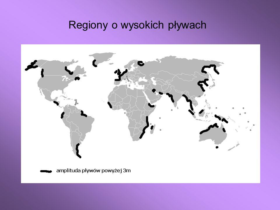 Regiony o wysokich pływach