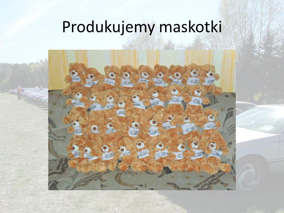 Produkujemy maskotki