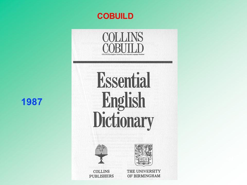 1987 34 COBUILD