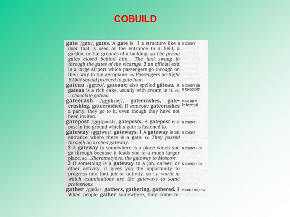 35 COBUILD