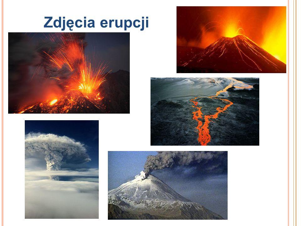 Zdjęcia erupcji