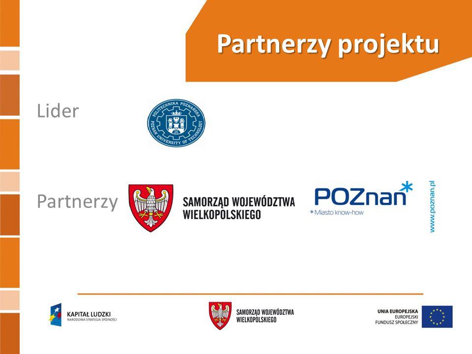 Partnerzy projektu Lider Partnerzy