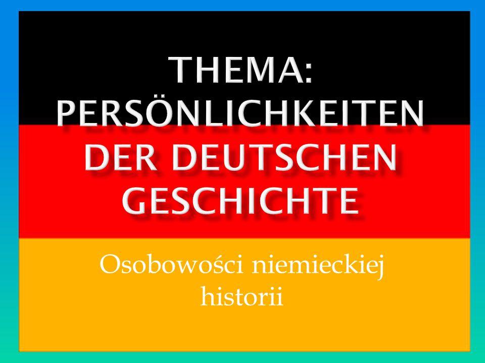 Osobowości niemieckiej historii