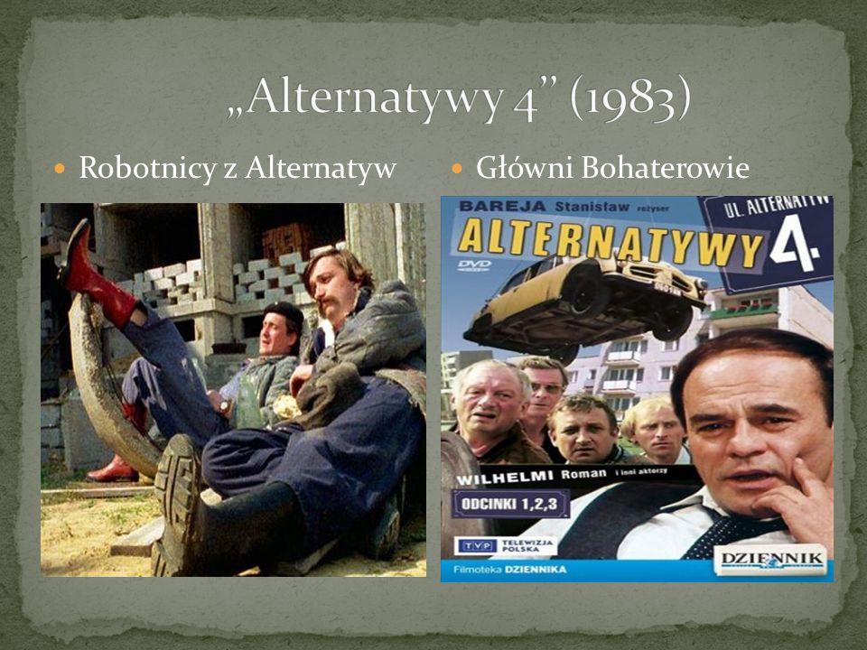 Robotnicy z Alternatyw Główni Bohaterowie