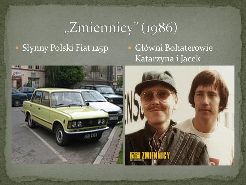 Słynny Polski Fiat 125p Główni Bohaterowie Katarzyna i Jacek