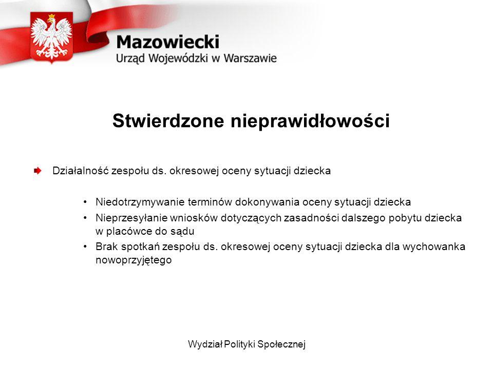Wydział Polityki Społecznej Legalizacja pobytu Mazowiecki Urząd Wojewódzki: Wydział Spraw Cudzoziemców ul.