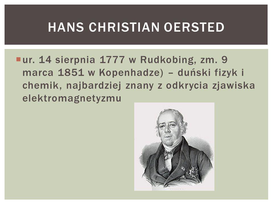  ur. 14 sierpnia 1777 w Rudkobing, zm. 9 marca 1851 w Kopenhadze) – duński fizyk i chemik, najbardziej znany z odkrycia zjawiska elektromagnetyzmu HA