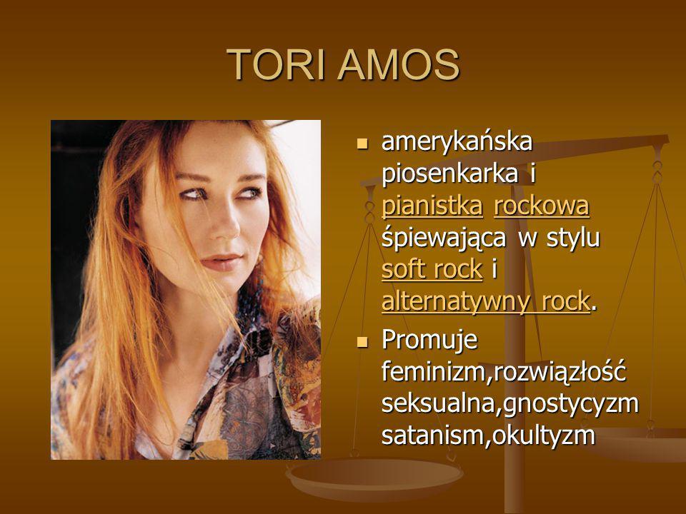 TORI AMOS amerykańska piosenkarka i pianistka rockowa śpiewająca w stylu soft rock i alternatywny rock. pianistkarockowa soft rock alternatywny rock P