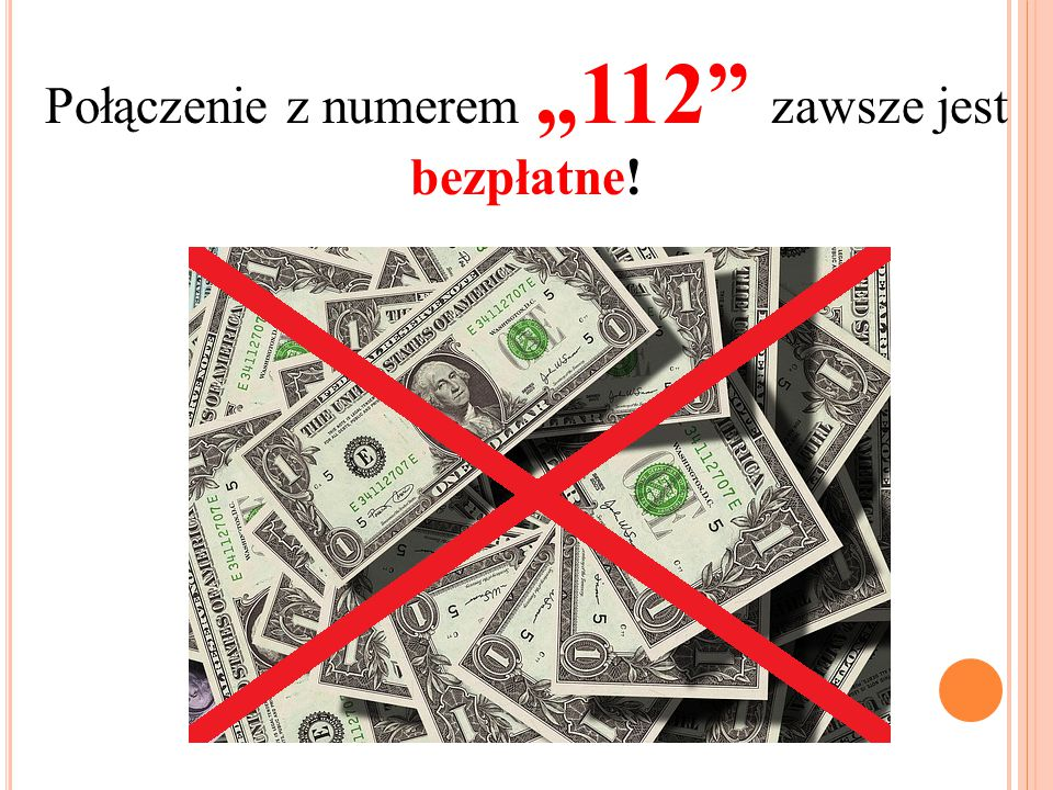 """Połączenie z numerem """"112"""" zawsze jest bezpłatne!"""