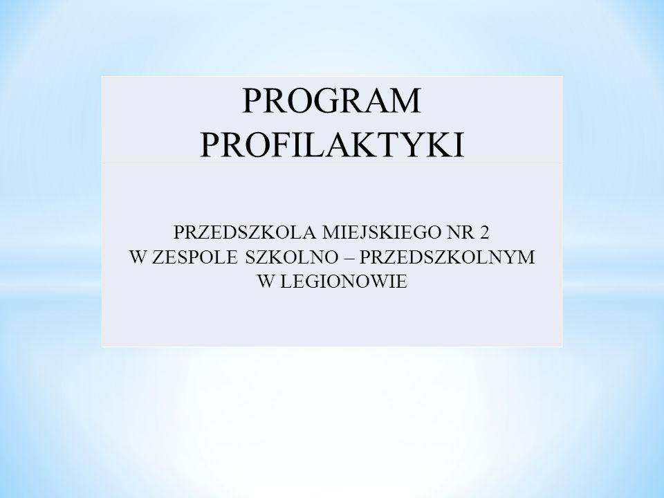 PROGRAM PROFILAKTYKI PRZEDSZKOLA MIEJSKIEGO NR 2 W ZESPOLE SZKOLNO – PRZEDSZKOLNYM W LEGIONOWIE