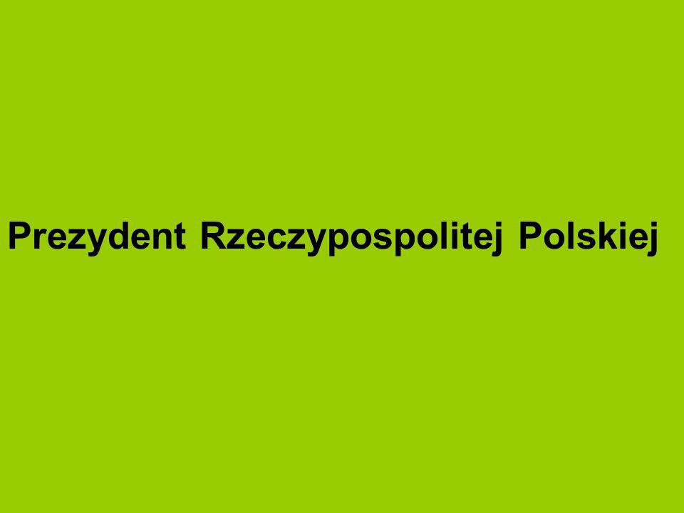 Prezydent Rzeczypospolitej Polskiej