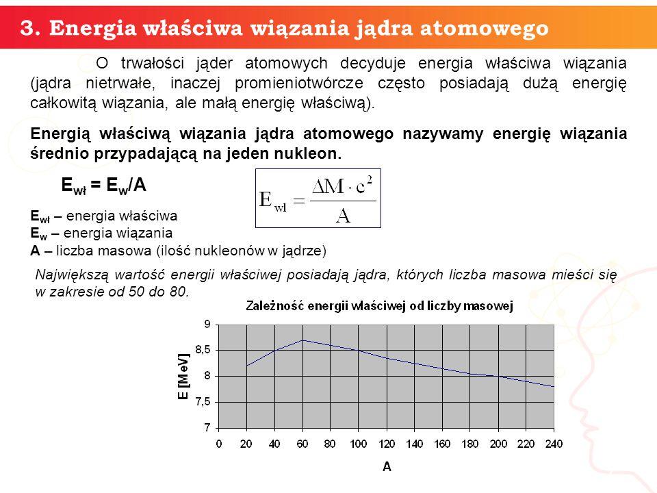 informatyka + 6 Energia wiązania jądra atomowego - cd Energię kinetyczną jąder i cząstek wyrzuconych z jądra można utożsamiać z energią cieplną.