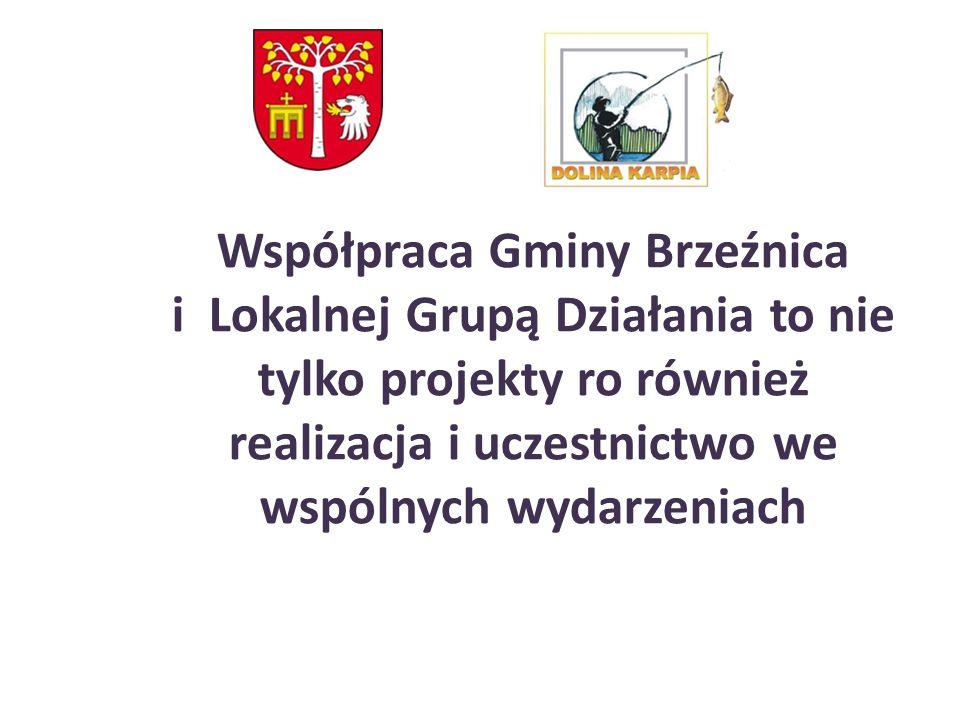 Współpraca Gminy Brzeźnica i Lokalnej Grupą Działania to nie tylko projekty ro również realizacja i uczestnictwo we wspólnych wydarzeniach