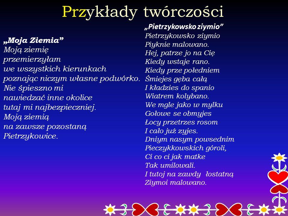 """Sukcesy Sukcesy odnotowała również w Przeglądach Zespołów Kolędniczych i Obrzędowych w Pietrzykowicach (w 1998, 2000 r.), w """"Posiadach Gawędziarskich"""""""