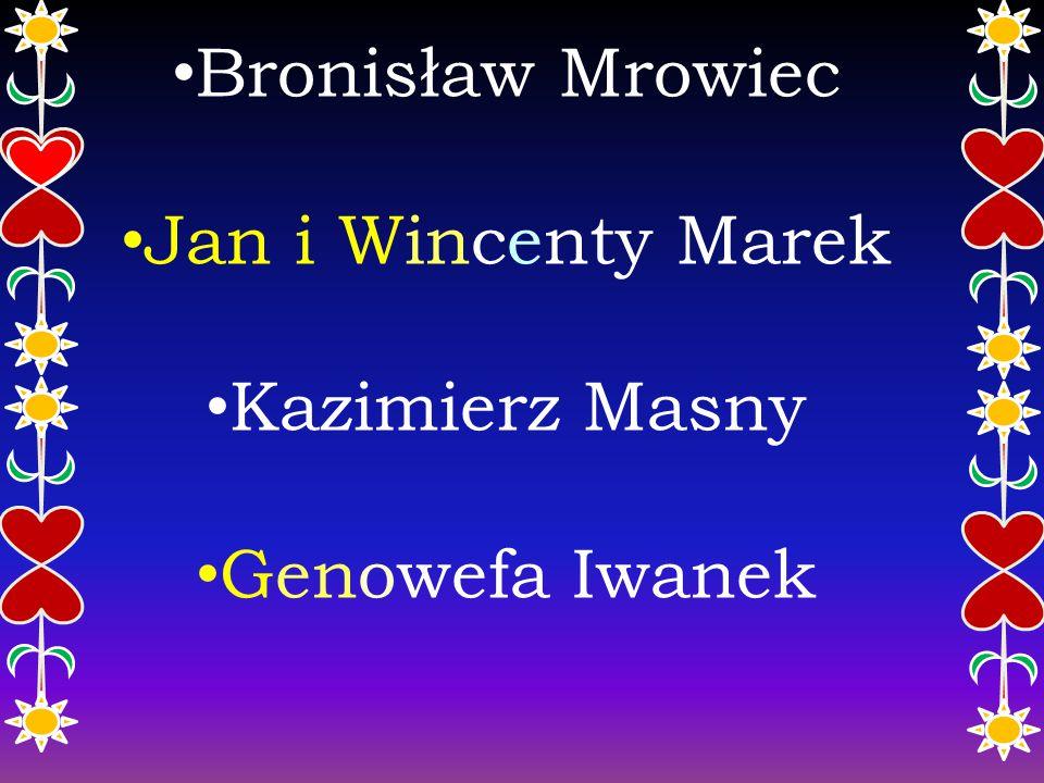 Twórcy ludowi Pietrzykowic Prezentacje wykonały: Julia Ryszka Julia Bujok pod kierunkiem Krystyny Midor
