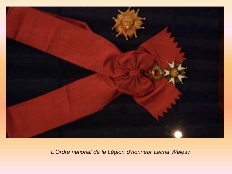 L'Ordre national de la Légion d'honneur Lecha Wałęsy