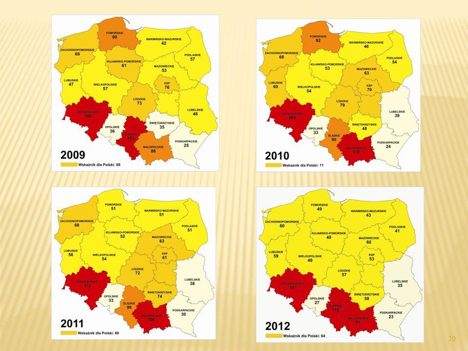 W roku 2012 wśród odnotowanych przestępstw rozbójniczych:  8152 popełniono na ulicy (33,2%),  7024 w szkole podstawowej lub gimnazjum (28,6%),  1