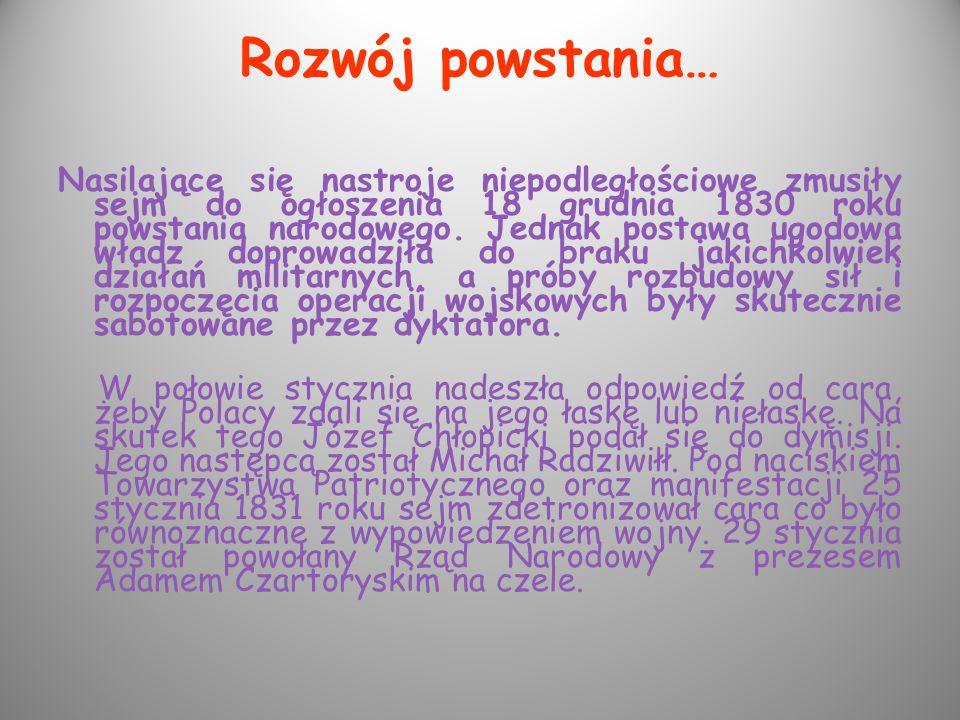 Wojna polsko- rosyjska