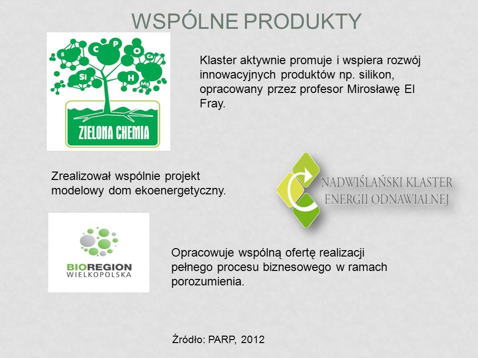 WSPÓLNE PRODUKTY Klaster aktywnie promuje i wspiera rozwój innowacyjnych produktów np. silikon, opracowany przez profesor Mirosławę El Fray. Zrealizow
