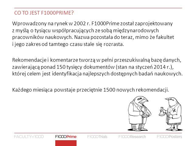 CO TO JEST F1000PRIME.Wprowadzony na rynek w 2002 r.