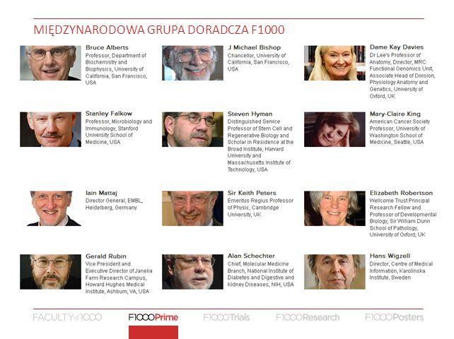MIĘDZYNARODOWA GRUPA DORADCZA F1000