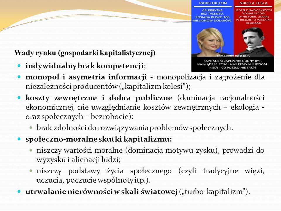 """Literatura (zalecana, warta?) na temat """"rynku (gospodarki rynkowej, kapitalizmu) i """"pracy (zawodu) Mirosława Marody, Anna Giza-Poleszczuk, Przemiany więzi społecznych, Warszawa 2004 (roz."""