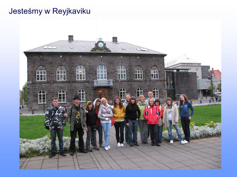 Jesteśmy w Reyjkaviku