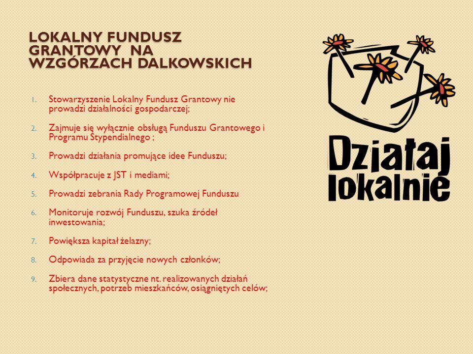 LOKALNY FUNDUSZ GRANTOWY NA WZGÓRZACH DALKOWSKICH 1.