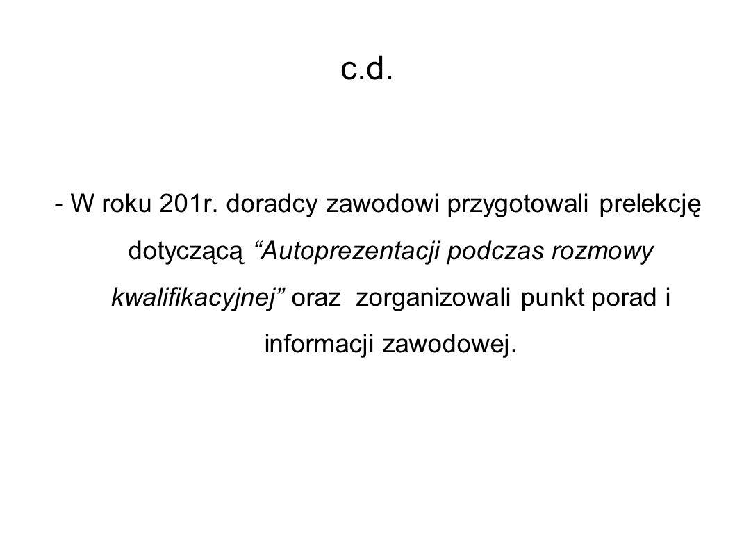 c.d. - W roku 201r.