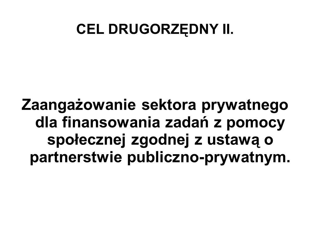 CEL DRUGORZĘDNY II.