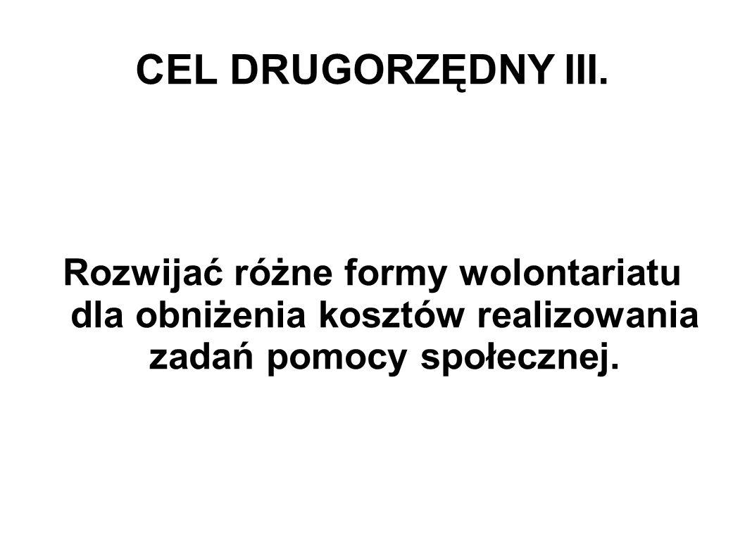 CEL DRUGORZĘDNY III.