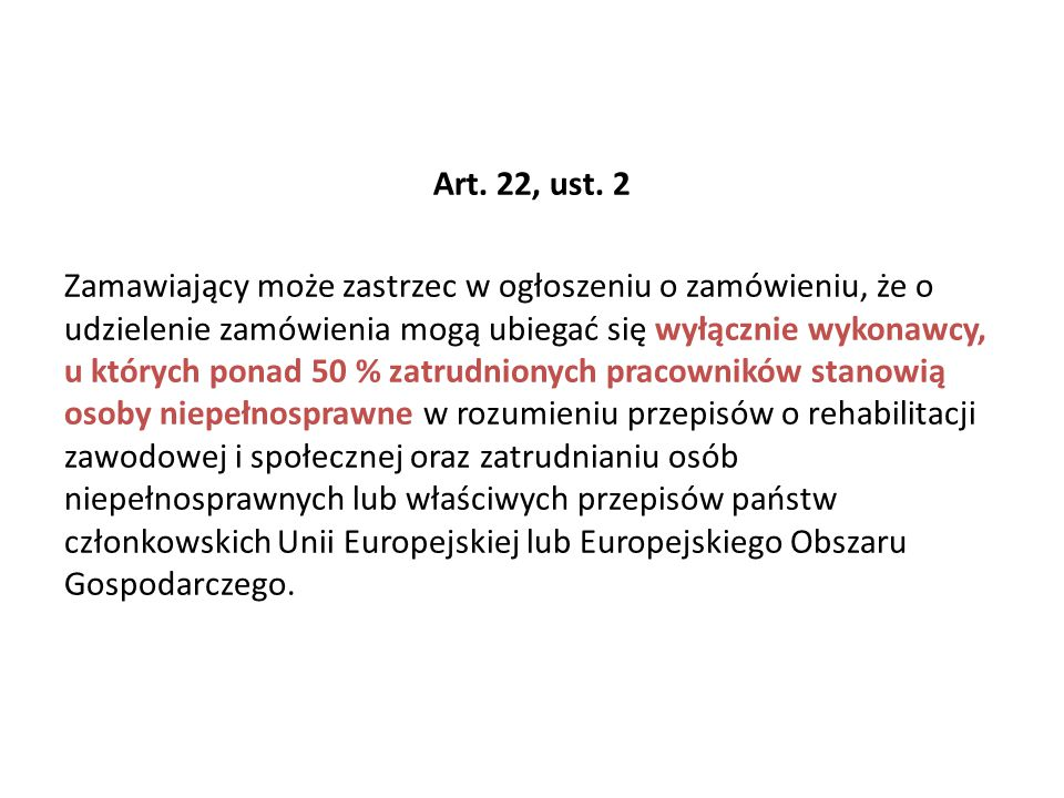 Art. 22, ust.