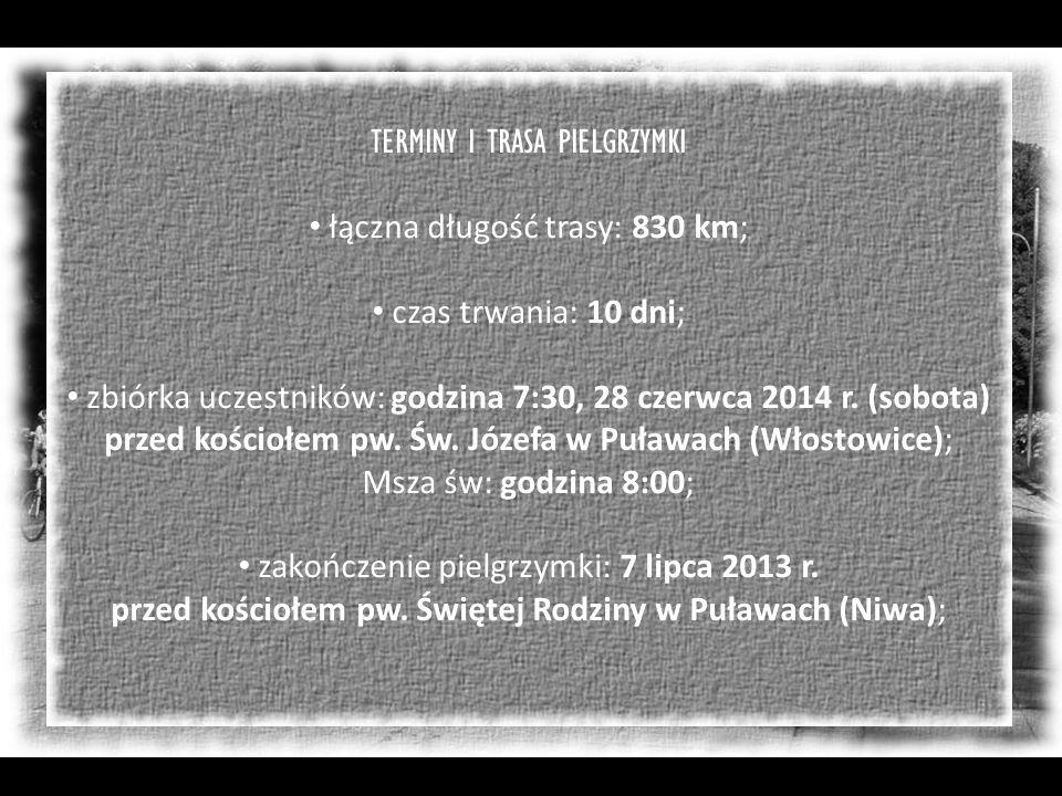 Dzień X Skarżysko-Kamienna – Puławy 110 km