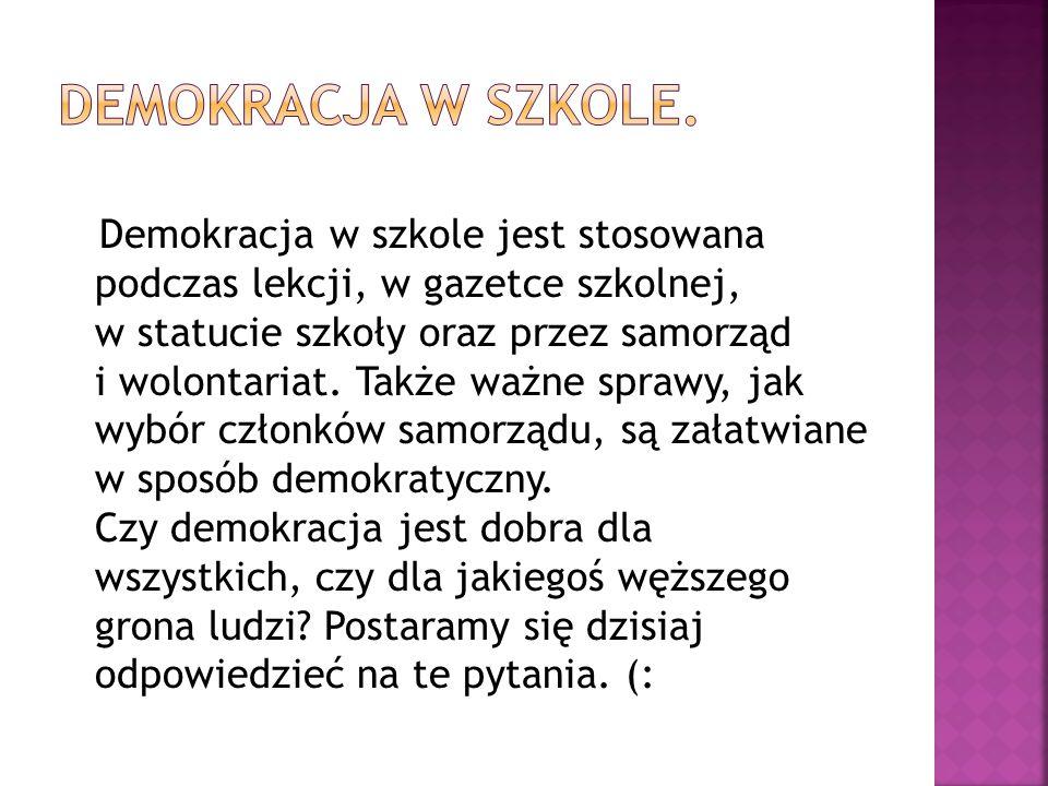 Demokracja w mowie.