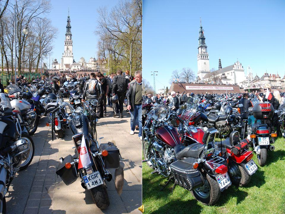 Zloty motocyklowe na Jasnej Górze W dniach 18–19 kwietnia 2010 r., jak co roku w Częstochowie, odbył się jeden z największych w Polsce zlotów motocykl